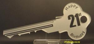 Gold 21st Key