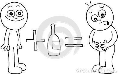 thin-man-equals-fat-man-alcohol-hand-drawn-cartoon-plus-beer-belly-36721410